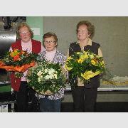Die 3 ältesten Seniorenschülerinnen der EULE